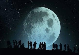 Atelier d'écriture : carte blanche à la lune (en présentiel)