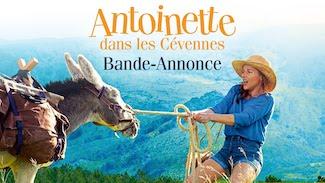 Projection en plein air Antoinette dans les Cévennes