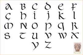 «De l'onciale a la ronde», atelier de calligraphie