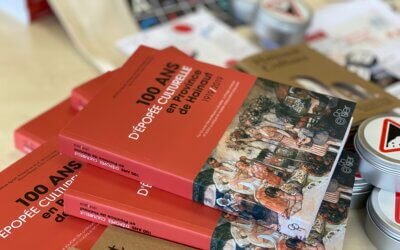 Une publication consacrée aux 100 ans de l'action culturelle en Hainaut !