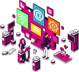 Des clics à l'espace numérique